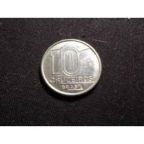 Brasil - Moneda De 10 Cruzeiros - Año: 1990