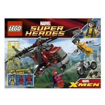 Lego Wolverine Chopper Arreglo De Cuentas 6866