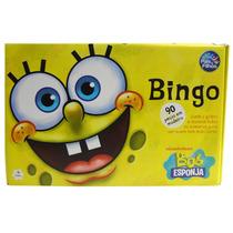 Jogo De Bingo Bob Esponja Kit 36 Cartelas Brinquedo Infantil