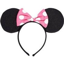 Las Orejas De Minnie Mouse Deluxe Ratón Diadema-1 Pieza