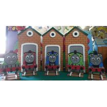 Figuras En Anime Thomas El Tren! Para Fiestas,decoracion