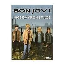 Bon Jovi Dvd Nice Days On Stage (digipak) Novo Importado