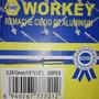 Remaches Ciegos De Aluminio Workey X Caja De 500pzas