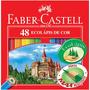 Lápis De Cor Faber Castell 48 Cores 100% Original Imperdivel