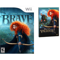 Valiente Disney Nintendo Wii Nuevo Incluye Pelicula En Dvd