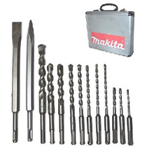 Kit Brocas Cinceles Sds Plus 13 Pzas Makita Con Maletin