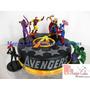 Torta + 15 Cupcakes Avengers - Combo Promoción A Solo S/.180