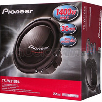 Auto Falante Pioneer Ts W 310 D4 Sub Woofer 400 Rms