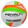 Bola De Vôlei Oficial Mg 3600 Penalty Branca Laranja E Verde