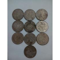 10 Monedas De 50 Pesos Templo Mayo