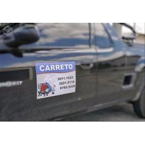 2 Adesivos C/ Imã Para Propaganda Carro Veículo Frete Grátis