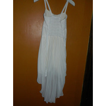 Vestido Blanco Cola De Pato Novia Zombie Disfraz