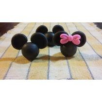 Caritas En Porcelana Fría De Mickey Y Minnie!! X 20u.