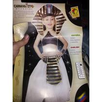 Disfraz De Cleopatra Talla 4 Carnavalito