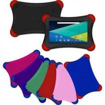 Tablet Kids Android Kit Kat Niños 2mpx Doble Camara Web Micr