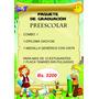 Combo 1 De Graduacion Preescolar Y Sexto Paquetes De Grado