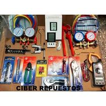 Kit Herramientas Refrigeracion N°8 Ciber Repuestos Completo