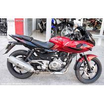 Moto Usada Bajaj Rouser 220f 220 30000 Km 2014 Rojo
