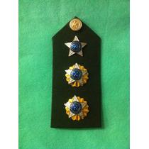 Eb406p Platina Tenente Coronel - Exército (par) Vo
