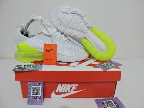 Nike Air Max 270 Blanco Verde En Caja Envio Gratis
