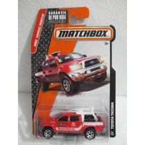 Matchbox Camioneta Salvavidas Toyota Tacoma Rojo 59/120