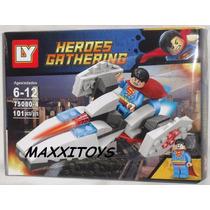 Playset Para Armar Superman Y Nave Comp. Lego 101 Piezas