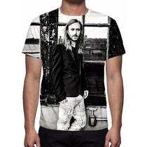 Camisa, Camiseta David Guetta - Listen - Estampa Total