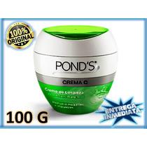 Ponds Crema Limpiadora Con Extracto De Pepino 100g