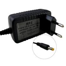 Fonte Carregador 9v 2a P Dvd Portatil Tablet Plug 4x1.64mm
