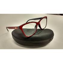 Armação Óculos Grau Ana Hickman Barata,estilo Gatinho Linda