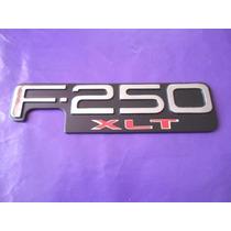 Emblema F-250 Xlt Ford Camioneta