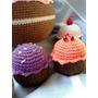 Cupcakes Tejidos A Crochet En Hilo De Algodón Amigurumis