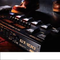 Pedaleira Boss Gt100 Para Guitarra Multi-efeitos Gt 100