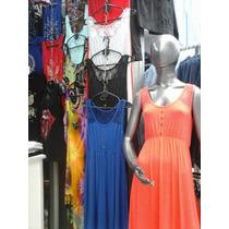 Vestido De Modal Viscosa Con Encaje C/lycra (media Docena)