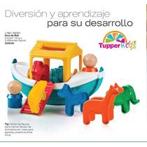 Arca De Noé De Tupperware Incluye 9 Diferentes Figuras