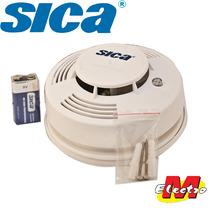 Detector Humo Fotoelectrico A Baterias Sica Electro Medina