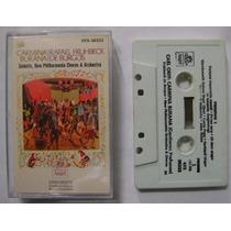Carmina Burana / Rafael Fruhbeck 1 Cassette