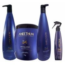 Aneethun Linha A Shampoo+condicionador+máscara+spray Oferta!