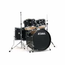 Bateria Acústica Tama Rhythm Rm 52h4 Bk - Frete Grátis