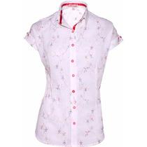 Camisa Feminina Peace Em Lese - Pimenta Rosada