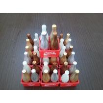 Lote 40 Garrafinhas Especiais Coca Cola E 10 Engradados