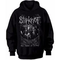 Casaco Blusa De Frio Moletom Rock Nu Metal Slipknot
