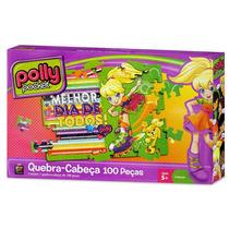 Quebra-cabeça Polly Pocket Melhor Dia De Todos 100 Peças Mat