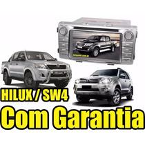 Kit Central Multimidia Hilux 12x S Juros Dvd Gps Tv Dig Bt