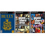 Patch Bully + Gta San Andreas + Vice City Para Ps2 Destravad