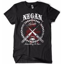Camiseta The Walking Dead Negan Lucille Zumbie
