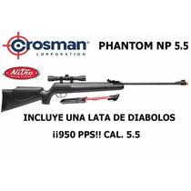 Marcadora Crosman Phantom Nitrop 5.5 950 Pps !envío Gratis!