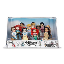 Set Muñecas Animators 11 Princesas Deluxe Disney Store 2016