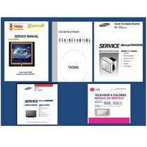 Manuales De Servicio Y Diagramas Eléctricos Para Televisores