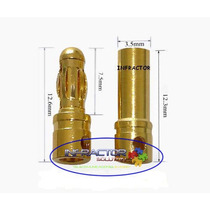 Conector Bullet 3,5mm Para Lipo Motor Brushless